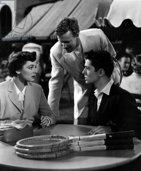L'Inconnu du Nord-Express: STRANGERS ON A TRAIN, Ruth Roman, Farley Granger, 1951.