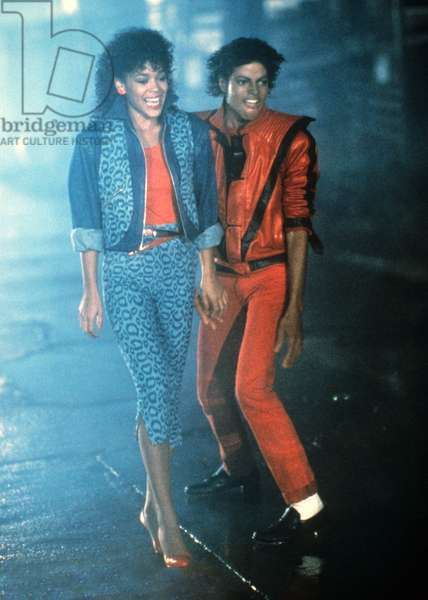 THRILLER, (aka MAKING OF MICHAEL JACKSON'S THRILLER), Ola Ray, Michael Jackson, 1983, © MCA/Universal / Courtesy: Everett Collection