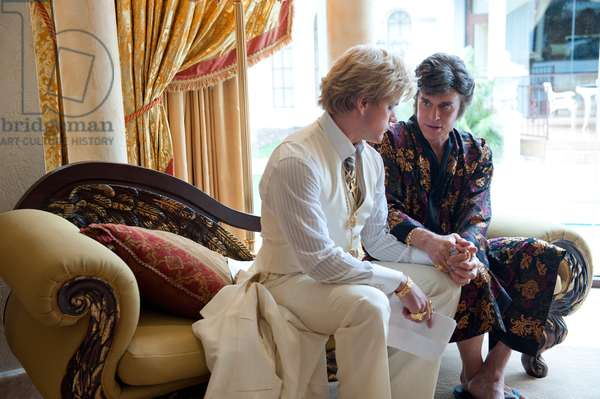 Ma Vie avec Liberace: BEHIND THE CANDELABRA, from left: Matt Damon, Michael Douglas as Liberace, 2013. ph: Claudette Barius/©HBO Films/courtesy Everett Collection
