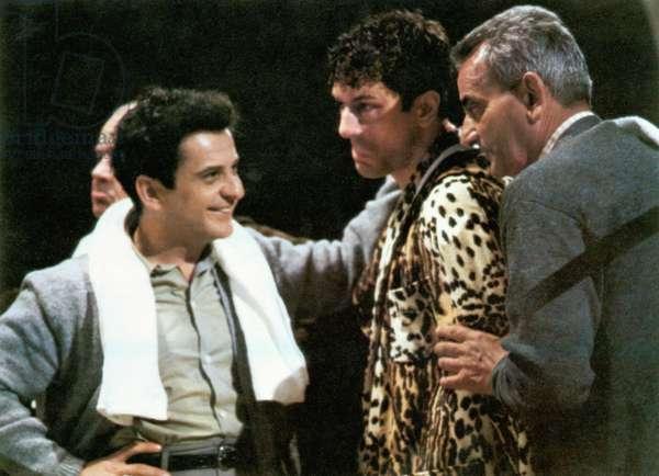 RAGING BULL, Joe Pesci, Robert De Niro, 1980. ©United Artists. Courtesy: Everett Collection.