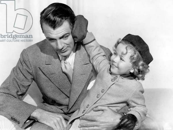 C'est pour toujours: NOW AND FOREVER, Gary Cooper, Shirley Temple, 1934