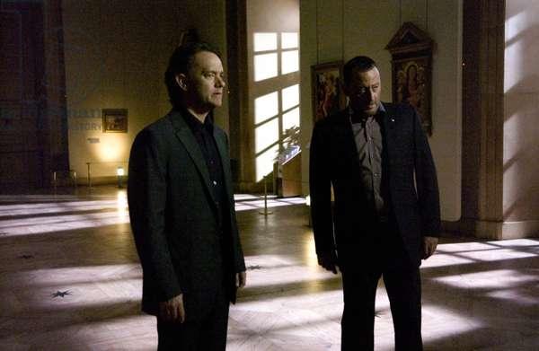 THE DA VINCI CODE, Tom Hanks, Jean Reno, 2006, (c) Columbia/courtesy Everett Collection
