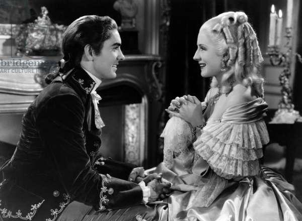 MARIE ANTOINETTE, Tyrone Power, Norma Shearer, 1938.