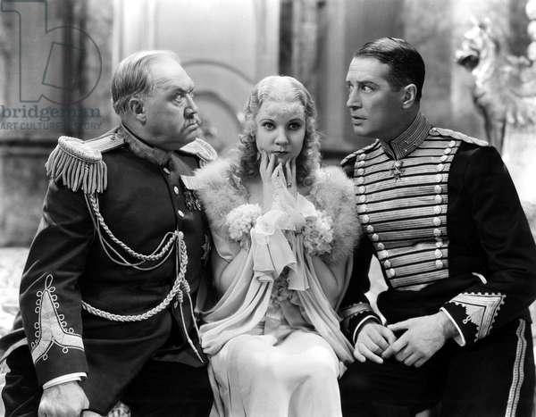 La Veuve joyeuse: THE MERRY WIDOW, George Barbier, Una Merkel, Maurice Chevalier, 1934, angry and alarmed