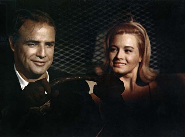 THE CHASE, Marlon Brando, Angie Dickinson, 1966.
