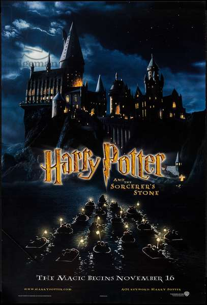 HARRY POTTER AND THE SORCERER'S STONE, 2001, ©Warner Bros./courtesy Everett Collection