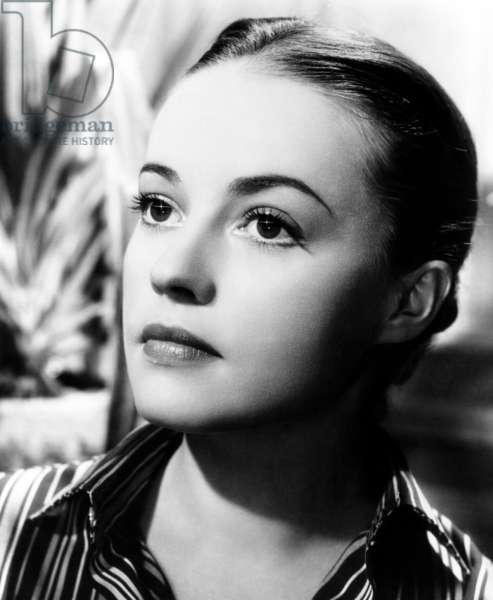 The Bed, Jeanne Moreau, 1954
