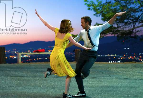 LA LA LAND, l-r: Emma Stone, Ryan Gosling, 2016. ph: Dale Robinette/©Summit Entertainment/courtesy Everett Collection