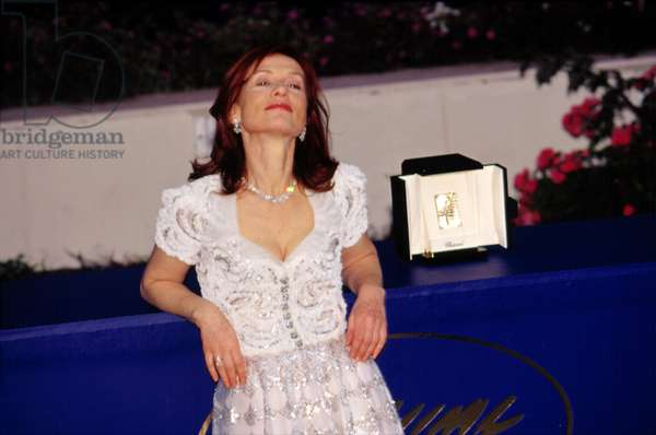 Isabelle Huppert at Cannes Film Festival 2001, by Thierry Carpico