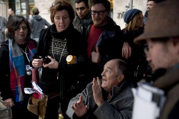 ME AND YOU, (aka IO E TE), director Bernardo Bertolucci (sitting), on set, 2012, ©Emerging Pictures/Courtesy Everett Collection