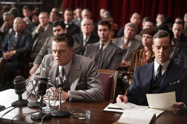 J.Edgar: J. EDGAR, from left: Leonardo DiCaprio, Armie Hammer, 2011. ph: Keith Bernstein/©Warner Bros. Pictures/Courtesy Everett Collection