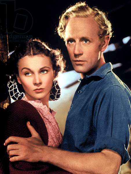GONE WITH THE WIND, Vivien Leigh, Leslie Howard, 1939