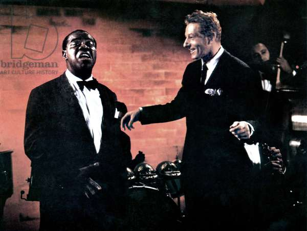 THE FIVE PENNIES, Louis Armstrong, Danny Kaye, 1959