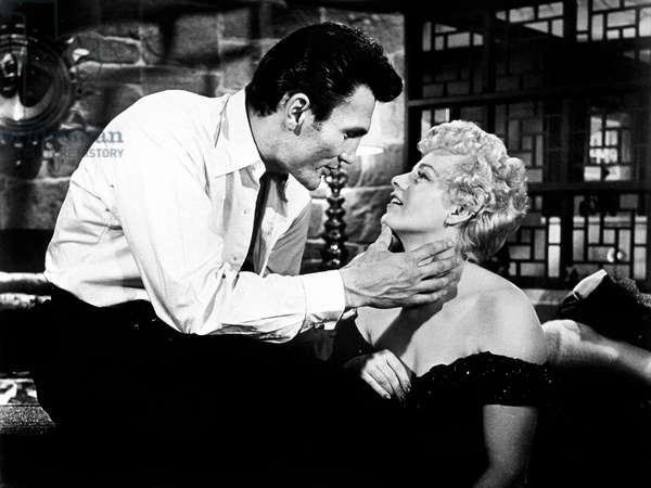 THE BIG KNIFE, Jack Palance, Shelley Winters, 1955