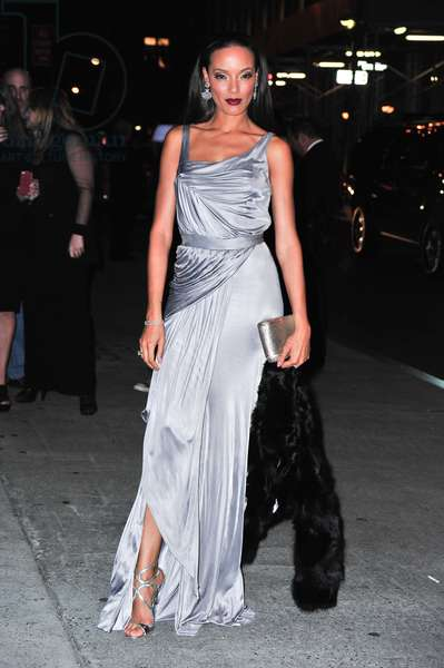 Selita Ebanks at arrivals for FGI Annual Night Of Stars, Cipriani Restaurant Wall Street, New York, NY October 25, 2012. Photo By: Gregorio T. Binuya/Everett Collection