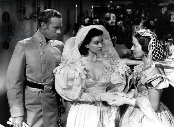 Autant en emporte le vent: GONE WITH THE WIND, from left: Leslie Howard, Vivien Leigh, Olivia de Havilland, 1939