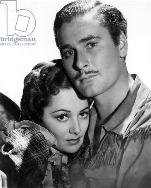 Les Conquerants: DODGE CITY, Olivia de Havilland, Errol Flynn, 1939