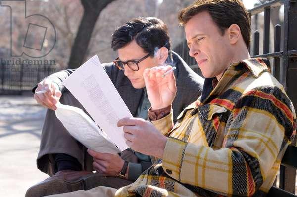 Howl: HOWL, from left: James Franco, as Allen Ginsberg, Todd Rotondi, as Jack Kerouac, 2010. ph: JoJo Whilden/©Oscilloscope Pictures/Courtesy Everett Collection