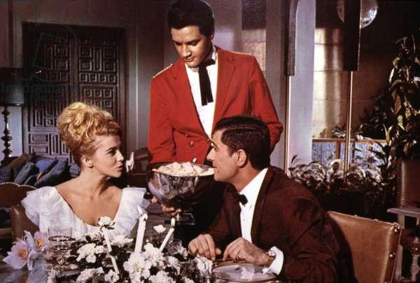 VIVA LAS VEGAS, Ann-Margret, Elvis Presley, Cesare Danova, 1964