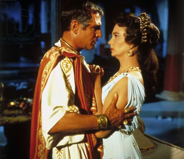 SPARTACUS, Laurence Olivier, Jean Simmons, 1960