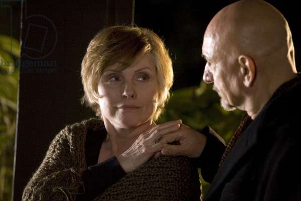 ELEGY, from left: Deborah Harry, Ben Kingsley, 2008. ©Samuel Goldwyn Films/Courtesy Everett Collection