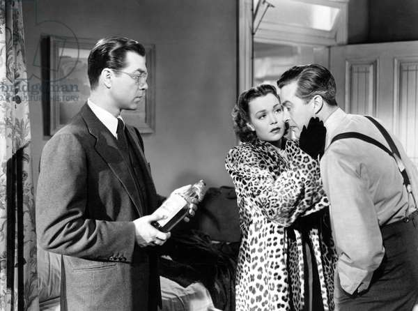 THE LOST WEEKEND, Phillip Terry, Jane Wyman, Ray Milland, 1945