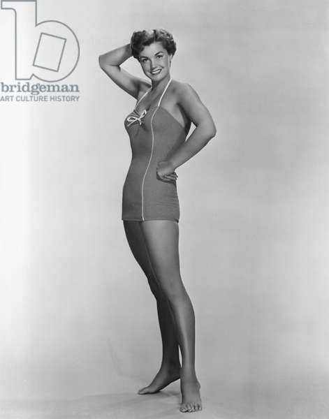 ESTHER WILLIAMS in a swimsuit, 1952.