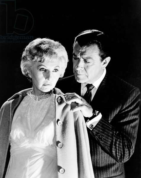 THE NIGHT WALKER, from left: Barbara Stanwyck, Robert Taylor, 1964: THE NIGHT WALKER, from left: Barbara Stanwyck, Robert Taylor, 1964