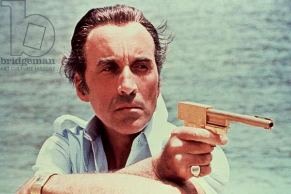 MAN WITH THE GOLDEN GUN, Christopher Lee, 1974