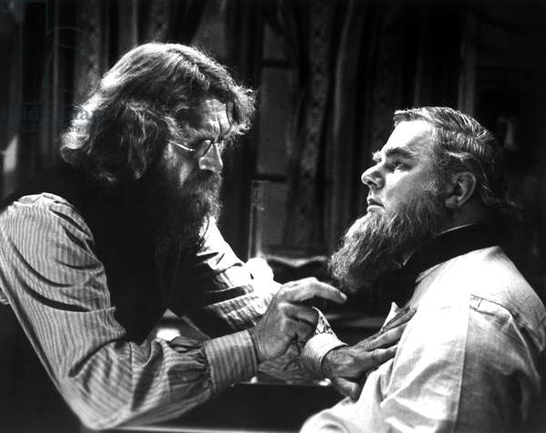 ENEMY OF THE PEOPLE, Steve McQueen, Charles Durning, 1977, doctor examining patient