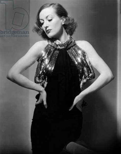 SADIE MCKEE: SADIE MCKEE, Joan Crawford, 1934 (photo taken March 26, 1934)