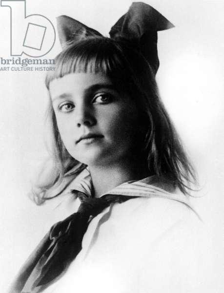 CAROLE LOMBARD childhood photograph