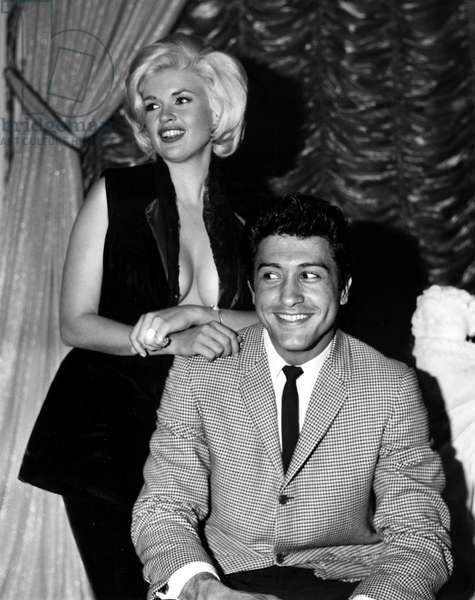 Jayne Mansfield and lover Nelson Sardelli, 1963