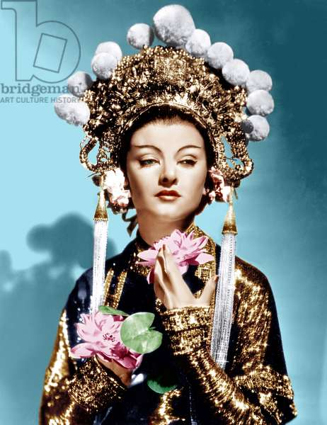 Le masque d'or: THE MASK OF FU MANCHU, Myrna Loy, 1932
