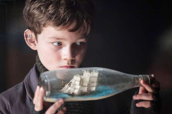 PAN, Levi Miller as Peter Pan, 2015. ph: Laurie Sparham / © Warner Bros. Pictures / courtesy Everett Collection