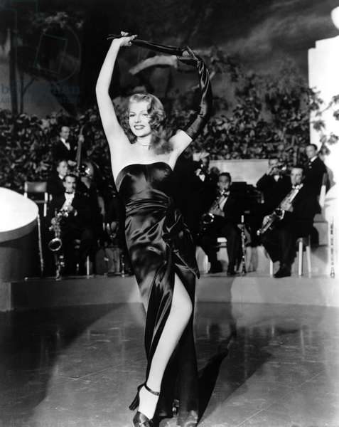 GILDA, Rita Hayworth, 1946, 'Put the Blame on Mame.'