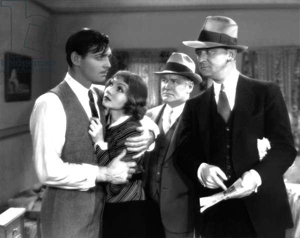 IT HAPPENED ONE NIGHT, Clark Gable, Claudette Colbert, Charles Wilson, James Burke, 1934