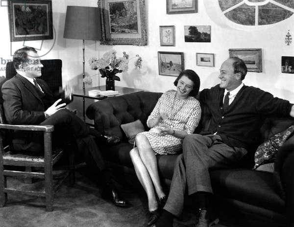 F. Lee Bailey, Patricia Neal, Roald Dahl, 1967