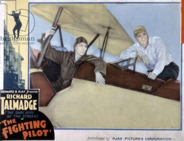 THE FIGHTING PILOT, Richard Talmadge, 1935