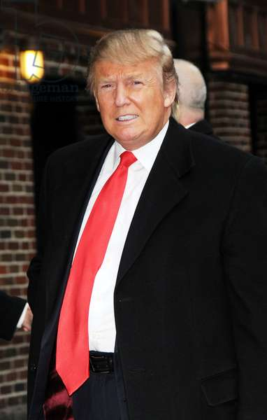Donald Trump at talk show appearance for The Late Show with David Letterman - WED, Ed Sullivan Theater, New York, NY March 2, 2011. Photo By: Desiree Navarro/Everett Collection