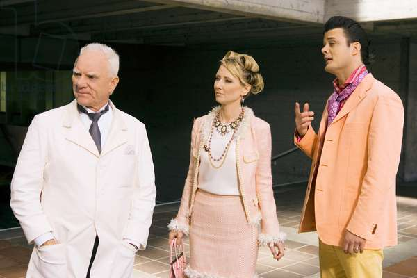 MASTERS OF SCIENCE FICTION, Malcolm McDowell, Anne Heche, Russell Porter, 'Jerry Was A Man', (Season 1), 2007. photo: Bob Akester / © ABC / Courtesy: Everett Collection