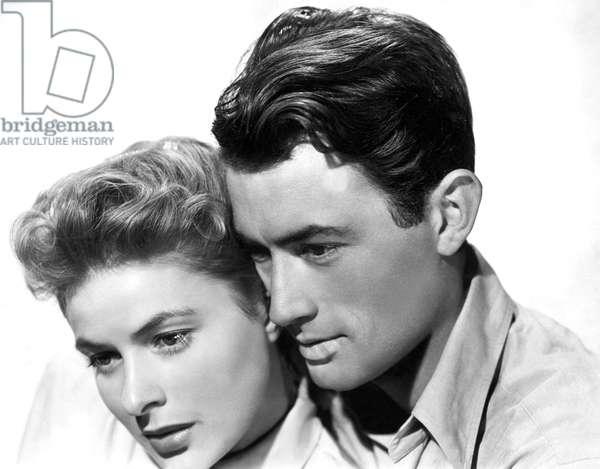 La maison du docteur Edwardes: SPELLBOUND, Ingrid Bergman, Gregory Peck, 1945
