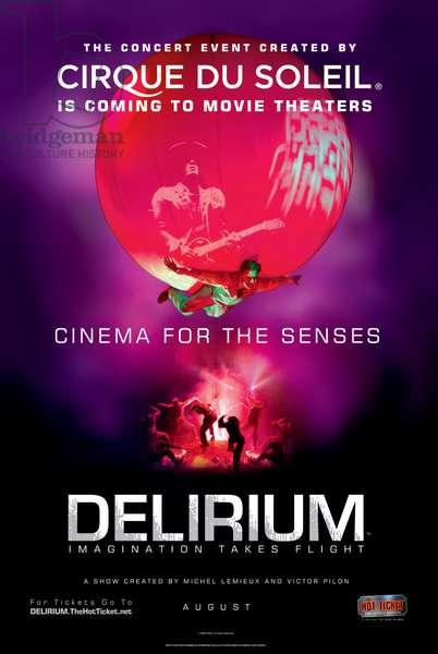 CIRQUE DU SOLEIL: DELIRIUM: CIRQUE DU SOLEIL: DELIRIUM, 2008. ©The Hot Ticket/courtesy Everett Collection