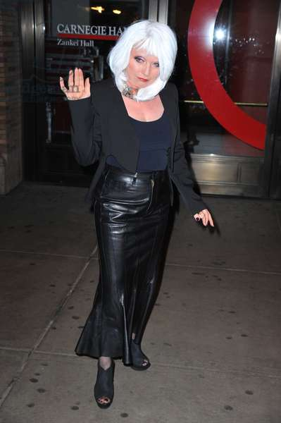 Debbie Harry: Debbie Harry at arrivals for GLAMOUR Women of the Year Awards, Carnegie Hall, New York, NY November 7, 2011. Photo By: Gregorio T. Binuya/Everett Collection