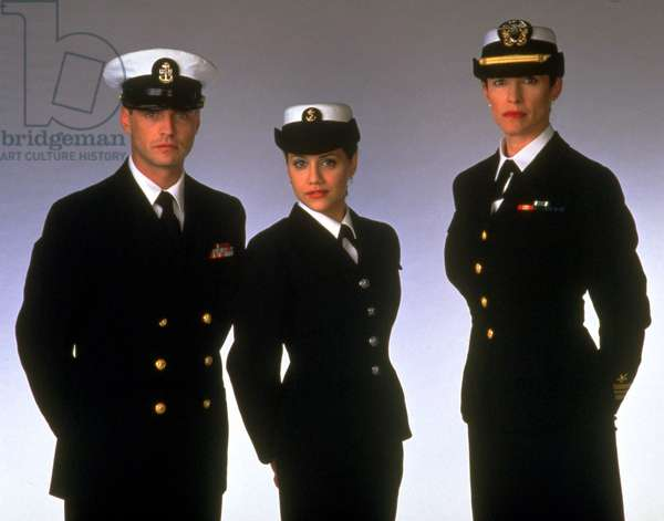 COMMON GROUND, (l to r): Jason Priestley, Brittany Murphy, & Mimi Rogers, 2000