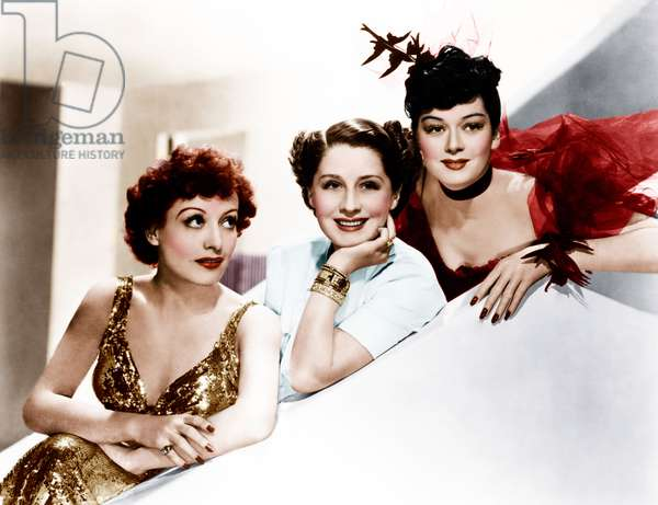 THE WOMEN, from left: Joan Crawford, Norma Shearer, Rosalind Russell, 1939: THE WOMEN, from left: Joan Crawford, Norma Shearer, Rosalind Russell, 1939