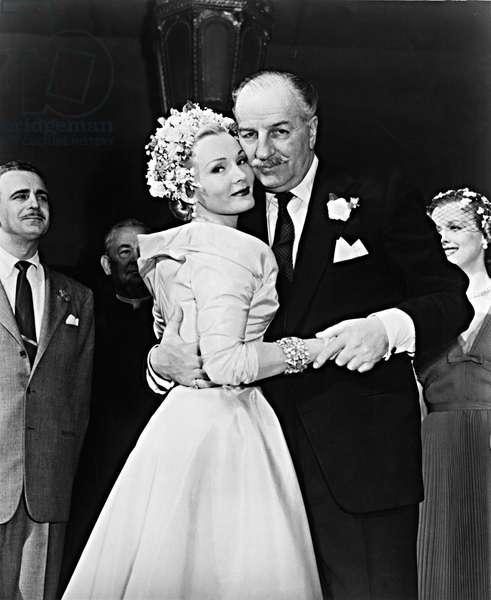 WE'RE NOT MARRIED!, Zsa Zsa Gabor, Louis Calhern, 1952.