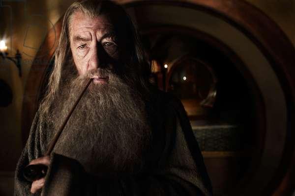 Le Hobbit: Le Voyage Inattendu: THE HOBBIT: AN UNEXPECTED JOURNEY, Ian McKellen, 2012. ph: James Fisher/©Warner Bros. Pictures/Courtesy Everett Collection
