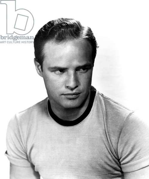 The Wild One, Marlon Brando, 1954 (b/w photo)