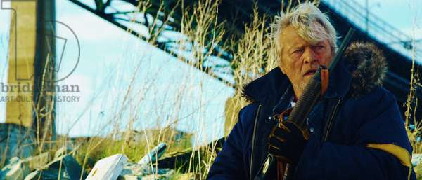 Hobo with a Shotgun: HOBO WITH A SHOTGUN, Rutger Hauer, 2011. ph: Karim Hussain/©Magnet Releasing/courtesy Everett Collection